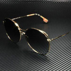 Burberry GOLD gradient 60mm Sunglasses